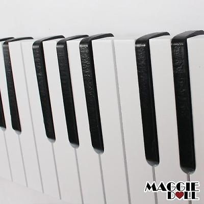 Maggiedoll Piano Design Keyboard Coat Clothes Bag Wall